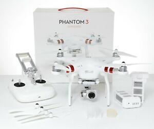 DJI Phantom 3 Standard 2.7K Camera Drone - White