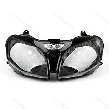 Front Headlight Headlamp For Kawasaki ZX-9R 00-03 ZX-6R 2000-02 ZZR600 00-08 TP