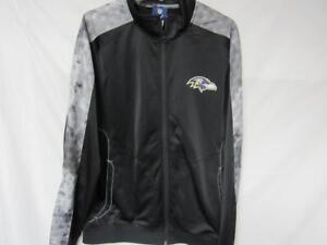 Baltimore Ravens Mens Size Large Full Zip Onfield Lightweight Jacket B1 219