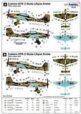 "Kopro Decals 1/72 JUNKERS Ju-87 STUKA Dive Bomber with ""Snake"" Versions"