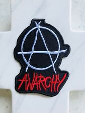 Anarchy Art Thrash Music Punk Rock Band Grunge Iron On Patches Patch
