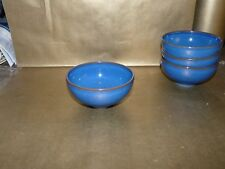 """denby reflex blue rice / noodle bowl 5"""" diameter"""