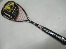 *New Old Stock* Tecnifibre Dynergy Tour 125 Jumbo Pre-Strung Squash Racquet