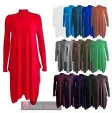 Unbranded Long Sleeve Turtleneck Dresses for Women