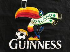 Guinness Beer Men's Black T Shirt Pelican Scarf Ireland Pint Irish XXL