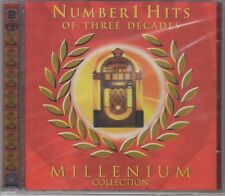 "No.1 Hits Of Three Decades - Various - 2CD Set ""NEW & SEALED"" 1st Class Post UK"