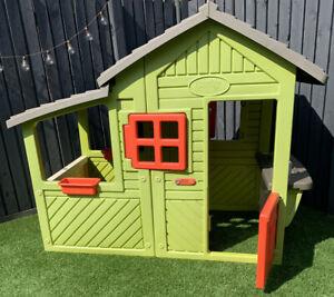 Smoby Childrens Playhouse Outdoor Garden Flower Box