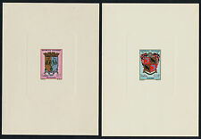 Malagasy 348-52 Deluxe Proofs MNH Crests