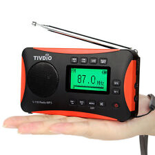 TIVDIO V-116 Digital DSP Radio World Band Receiver FM/ MW / SW Radio Alarm Best