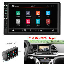 "7"" Bluetooth Car Radio HD Touch Screen Stereo 2 Din FM/USB Aux Input MP5 Player"