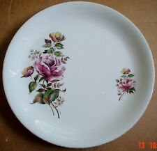 Alfred Meakin Glo White Ironstone Dinner Plate Rose Design