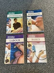 Job Lot Of Midwifery Books For Degree - Very Good Condition
