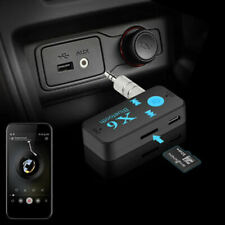 x6 Wireless Bluetooth AUX Audio Stereo Music Home Car Receiver Adapter XET
