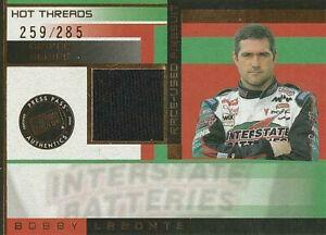 2003 Press Pass Premium Hot Threads Driver #HTD8 Bobby Labonte 259/285 NICE!