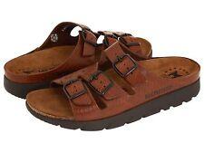 Mephisto Zach Fit Tan Grain Comfort Sandal Slide Men's 40-48 NEW!!!