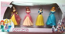 Disney Princess Figurines 4 per Box Lot of 5 New  Party Holiday Toy