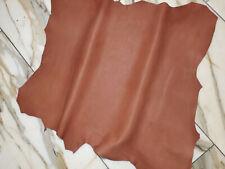 LEDER TIP 34251-KB, Lederreste, 1 Lederhaut, antik-rostbraun, nappa