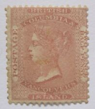 1860 Canada British Columbia Vancouver Island #2 appears mint no gum MNG