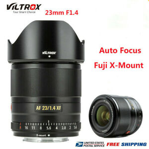 VILTROX 23MM F1.4 Auto Focus APS-C Lens X-Mount Large Aperture For FUJIFILM Came