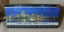 NIB 750 Jigsaw Puzzle New York Panoramic BGI Buffalo Games 2000 World Trade Cent
