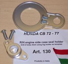 Cappellini Moto Honda CB72/77 R/H engine side case seal retention holder kit 130