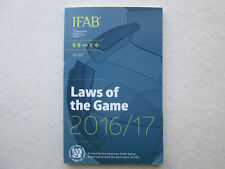 LAWS OF THE GAME 2016/17 American Youth Soccer Organization AYSO IFAB Football