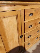More details for ☆ gorgeous vintage rustic shop cabinet - free delivery ☆