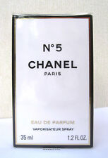 CHANEL NO 5 -  EAU DE PARFUM - 35ML -BNIB - CELLOPHANE SEALED
