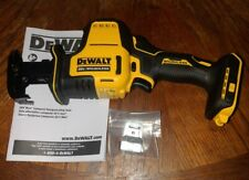 Dewalt 20V Max Li-Ion Brushless Compact Reciprocating Saw DCS369 Tool Only NEW!
