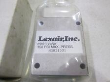 New Lexair M3821301 Mini-1 Valve 150 Psi Pilot Operated Mini 1 3 Way Spring