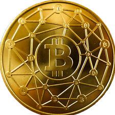 RAVENBIT Physical BRASS Rare COIN Hologram Like Lealana CASASCIUS BTC Bit Coin