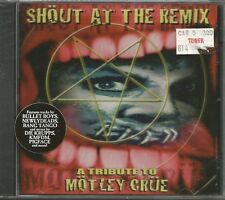 MOTLEY CRUE Tribute CD BULLET BOYS Bang tango & KMFDM Die Krups PIGFACE REMIXES