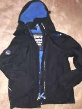 Mens Size S Superdry Original Fleeced Windcheater Hooded JacketExcellectConditon