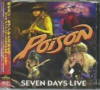 POISON-SEVEN DAYS LIVE: LIVE AT HAMMERSMITH APOLLO 1993-JAPAN 2 CD G00