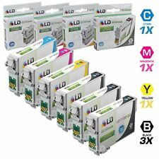 LD © Epson Remanufactured T126 Set of 6 HY Ink 3 T1261 1x T1262 T1263 T1264