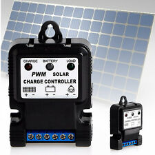 6V 12V 10A Auto Solar Panel Charge Controller Battery Charger Regulator PWM AU