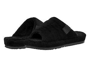 UGG Men's Fluff You Slipper 1117473 Black TNL Fluff Sz 8-14 New