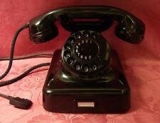 W48  altes alt Telefon  Bakelit MT Fernsprecher Telephone  W48  TOP! Wie NEU!