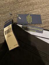 Polo Ralph Lauren Men's Stretch Classic Fit Black Dress Pants Size 54B/32 Big