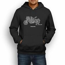 MV Agusta Dragster 800RC 2017 Inspired Motorcycle Art Men's Hoodie
