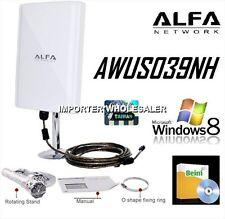 ALFA AWUS039NH,6800mw ,98DBI,EXTERIORES,CABLE 10M,RALINK 3070,ENVIO DESDE ESPAÑA