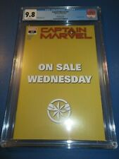 Captain Marvel #17 On Sale Wednesday Variant CGC 9.8 NM/M Gorgeous Gem wow