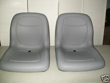 (2) HIGH BACK SEATS Toro Workman MD HD 2100 2300 4300 UTV Utility Vehicle #TN