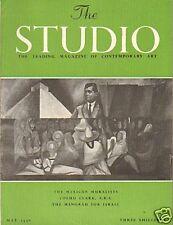 THE STUDIO. MEXICAN MURALISTS. ART MAGAZINE MAY 1956