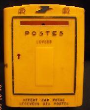 TIRELIRE PUBLICITAIRE BOITE AUX LETTRES PTT LA POSTE N3445