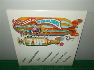 7-Up Un Un and Away . Joplin, Santana, Chase, Sly, Ten Years After . Record LP