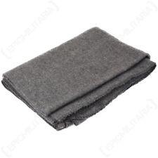 Original Grey Disaster Blanket Wool Wooly Winter Throw Cover Camping Emergency