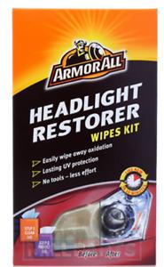 Armorall Headlight Restorer Restoration Wipes Kit No Tools Required
