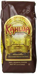 Kahlua Gourmet Ground Coffee, Original, 12 Ounce (Pack of 2)