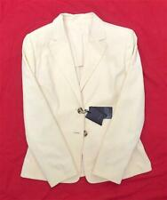 """RRP £750 BURBERRY BLUE LABEL """"BLAR"""" FITTED JACKET COTTON STUNNING SZ 10 VINTAGE"""